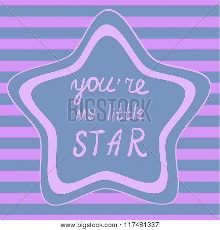 PrintStar and stripes background, Seamless star background Decorative frame template