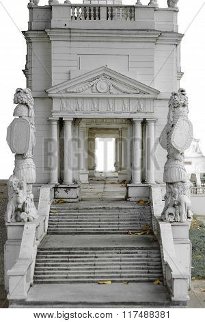 Walk way in rome