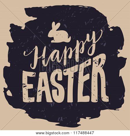 Happy Easter Print.