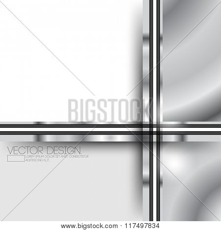 metallic geometric rectangle polygon material corporate background