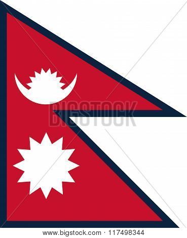 Standard Proportions For Nepal Flag