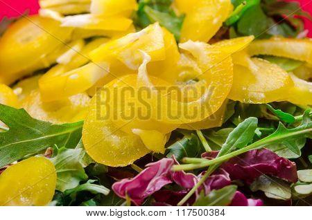 Spring Sald With Paprika
