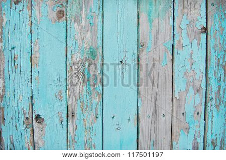 wooden planks, palisade blue serenity