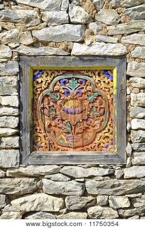 The Rock Wall Bhutan Ornament