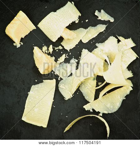Parmesan Cheese Slices