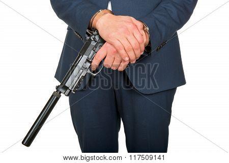 Handcuffed Killer