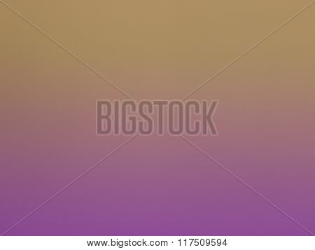 Purple faded in to gold background