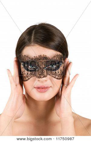 Chica en la máscara