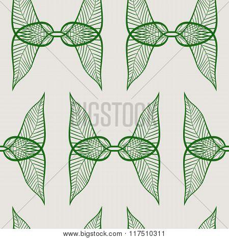 Foliage seamless pattern background