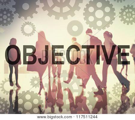 Objective Aim Achievement Direction Motivation Target Concept