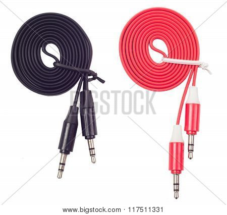 Cable Of Audio Of Aux On The
