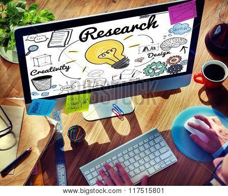 Businessman Communicaiton Connected Devices Concept