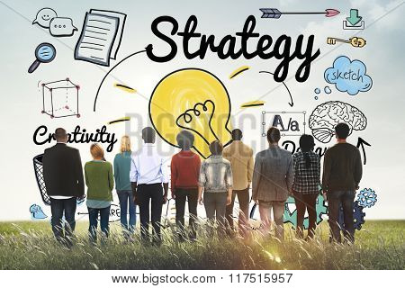 Strategy Ideas Mission Creativity Design Vision Concept