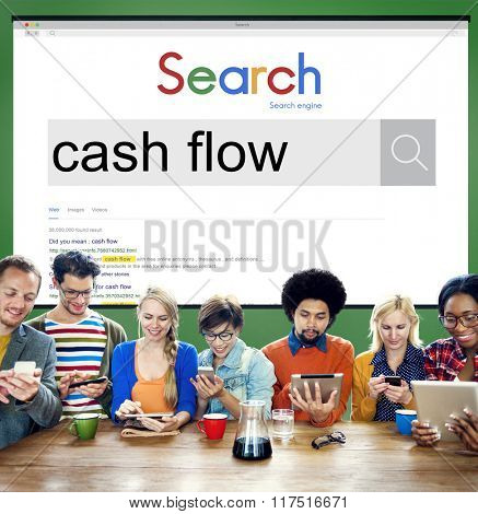 Cash Flow Finance Economy Credit Business Concept
