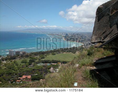 Waikiki Aerial View