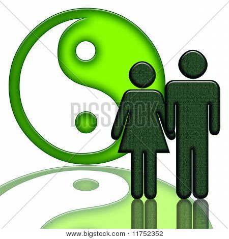 Yin Yang and Couple