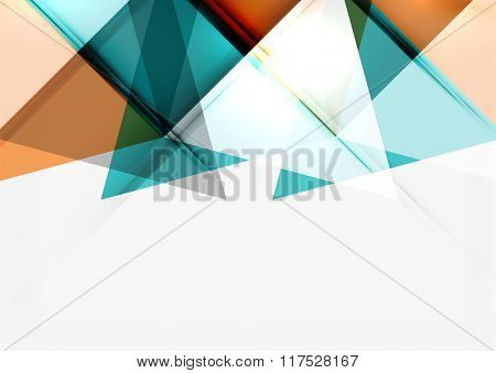 Minimalistic geometric background