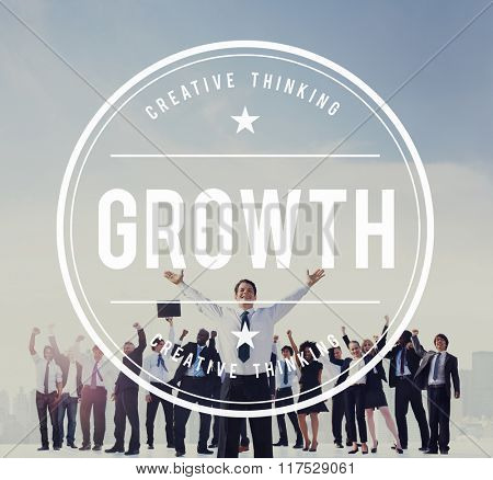Business Growth Improvement Development Increase Concept