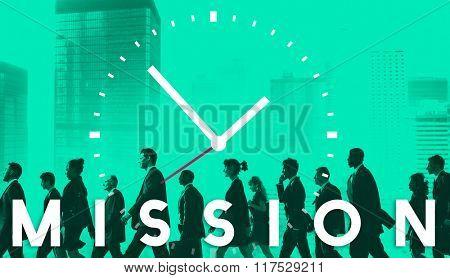 Mission Motivation Goals Target Aspiration Concept