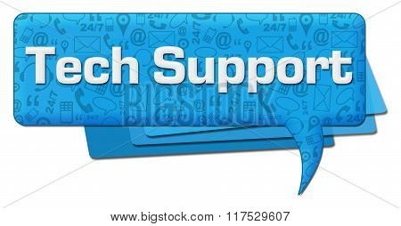 Tech Support Comment Symbol Texture