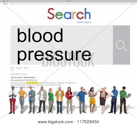 Blood Pressure Healthcare Heartbeat Symptom Concept