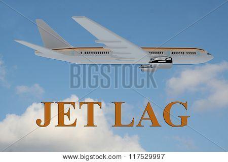 Jet Lag Concept