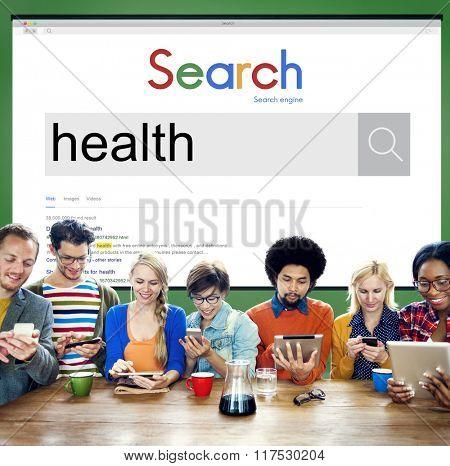 Healthy Health Healthcare Exercise Active Concept