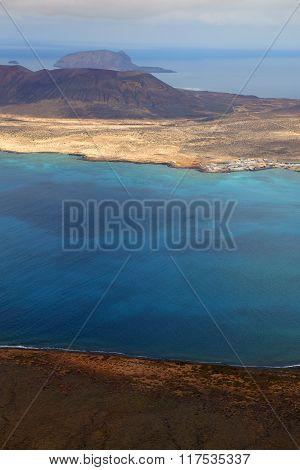 Spain  Harbor Rock Stone  Beach    Lanzarote