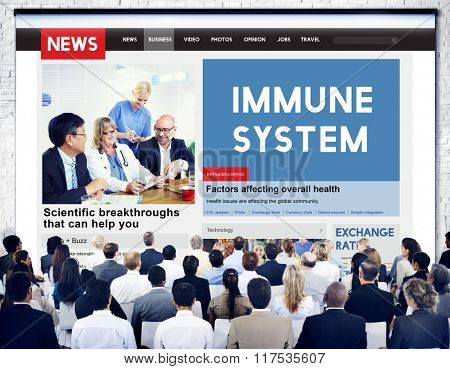 Immune System Healthcare Disease Antibody Concept