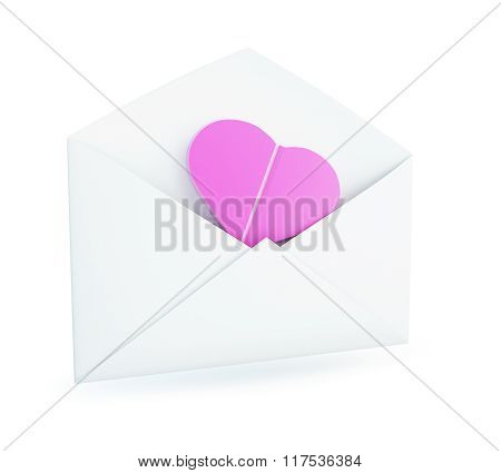Paper Open Letter To The Inside Heart Tablet