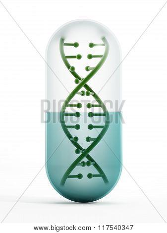 Dna Inside The Pill