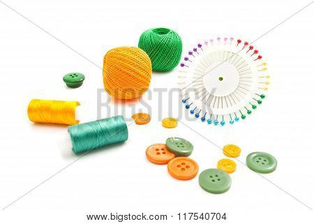 Pins, Threads And Buttons