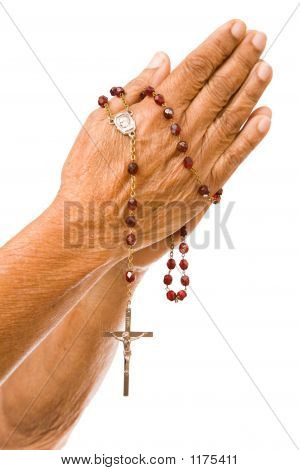 Old Hands Praying