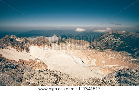 Summit of Fisht Mountain Landscape blue sky Summer Travel