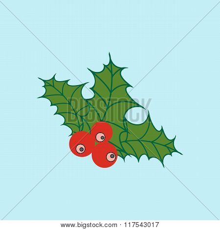 Mistletoe Icon Vector