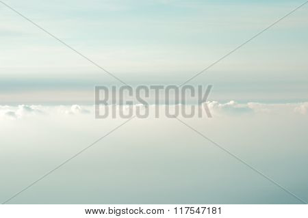 Cloudy Sky background beautiful scenery