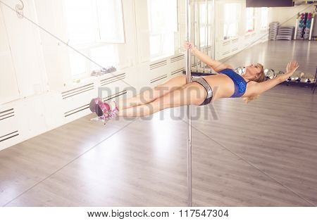In Horizontal Position