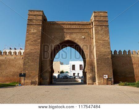 Bab El Mrissa. Rabat, Morocco. North Africa.
