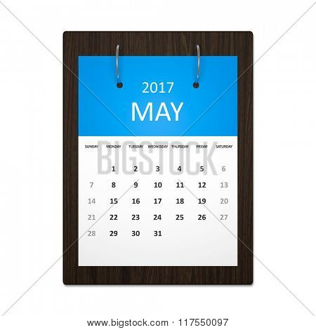 An image of a stylish calendar for event planning 2017 may