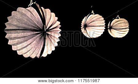 White lampions