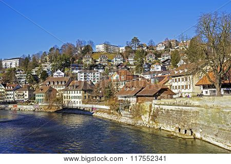 Bern By The Aare River, Switzerland