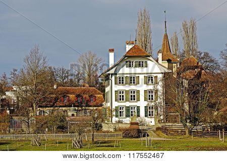 Bern, Switzerland, Wittigkofen Palace