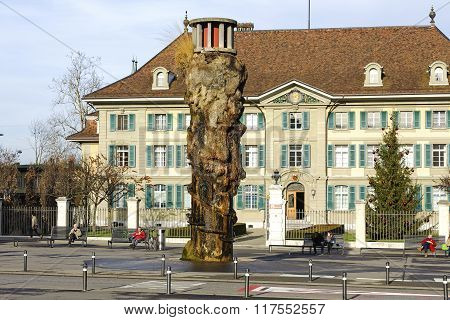 Bern, The Oppenheim Fountain