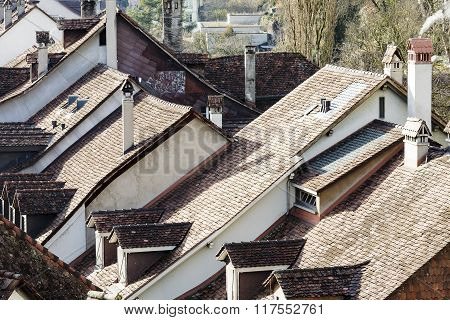 City Roofs Of Bern