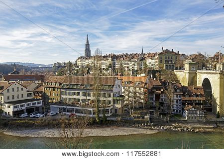 General View Towards City Of Bern