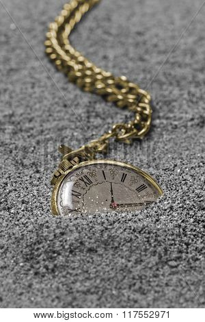 Old Gold Pocket Watch.