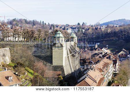 Muenster Platform In Bern