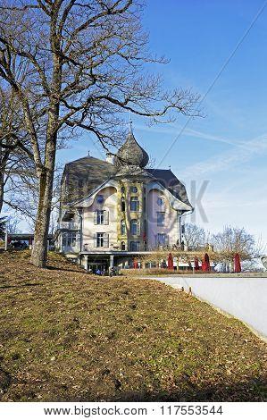 The Building Towering Over Gurten Park, Bern