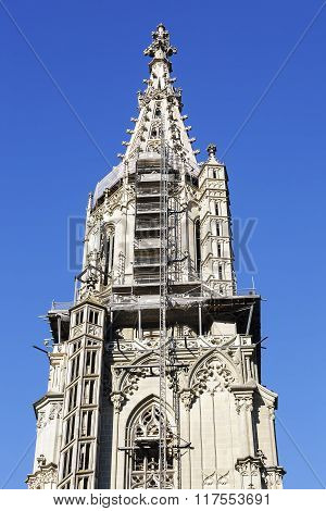 The Tower Of The Bern Muenster