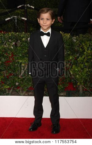 LOS ANGELES - JAN 30:  Jacob Tremblay at the 22nd Screen Actors Guild Awards at the Shrine Auditorium on January 30, 2016 in Los Angeles, CA